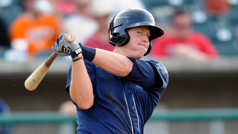 Marc Krauss is batting .297 at Mobile after his .242 mark in 2011.